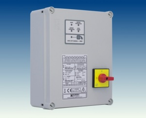 control and starter panels